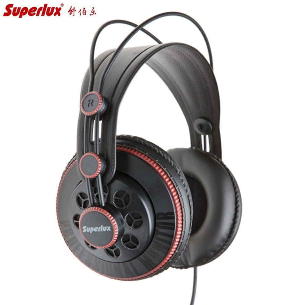 bilder für Superlux HD681 3,5mm Jack Wired Super Bass Dynamische Kopfhörer Noise Cancelling Headset mit Verstellbarem Stirnband 9ft Kabel