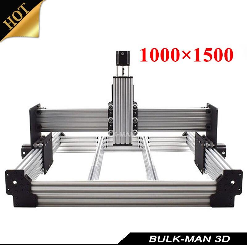 WorkBee CNC Mechanical Kit OX CNC Kit Upgrade Version DIY CNC Engraving Machine,Milling Machine,Wooding Router