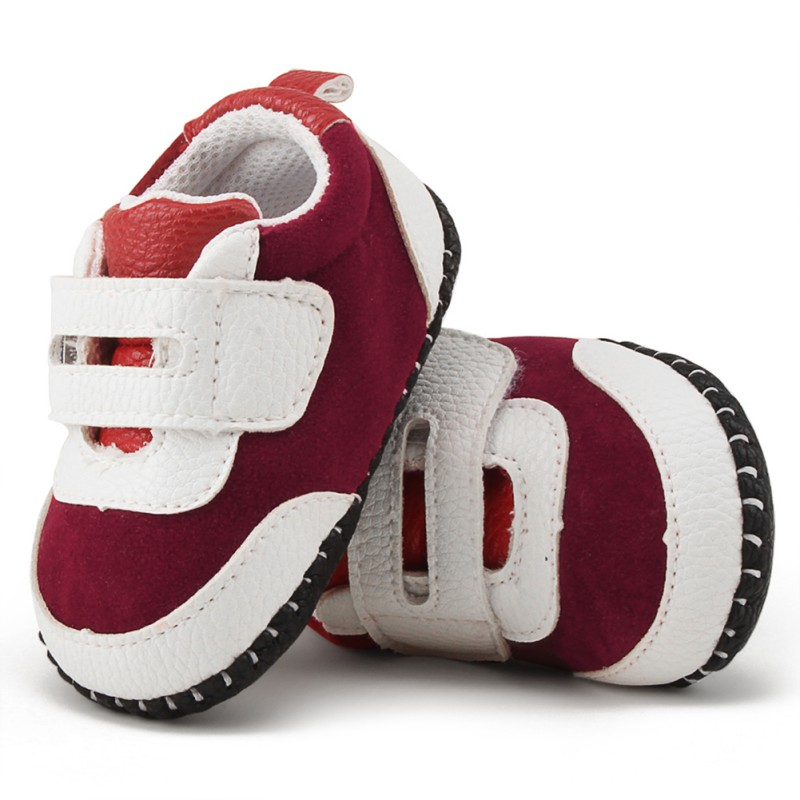 Cute Baby Boys Shoes Soft Moccasins Shoe Spring Autumn Patchwork Kid Sneakers Toddler Boy Newborn First Walkers