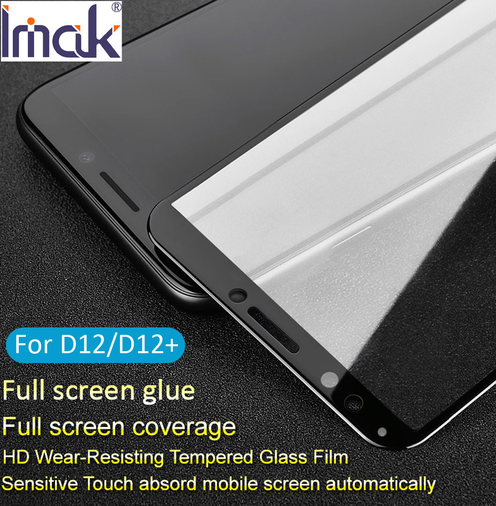imak Pro+ Full Screen Glue Cover Tempered Glass For HTC Desire 12 Plus 2.5D Curved oleophobic 12+