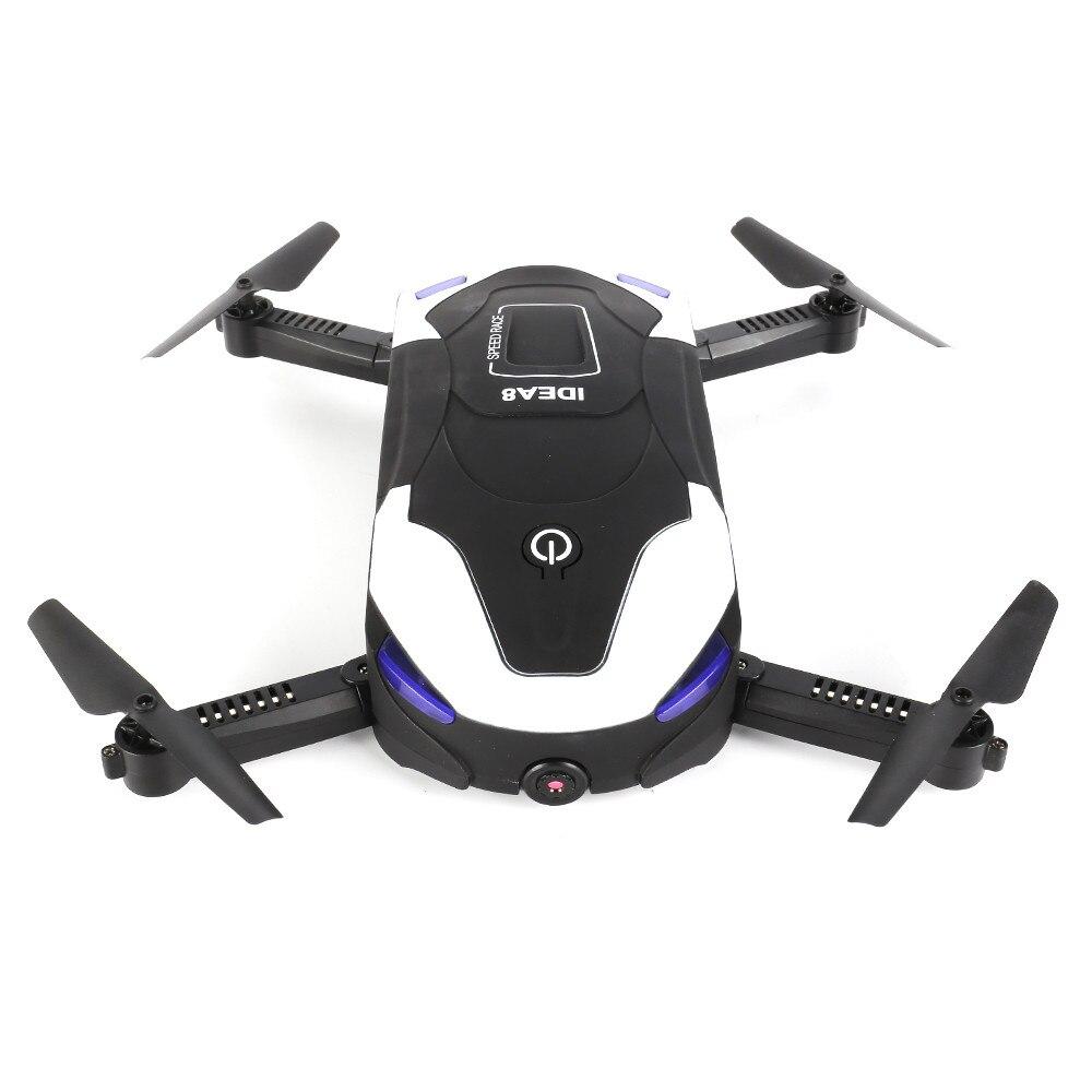2017 IDEA8 Altitude Hold HD Camera 2.0MP WIFI FPV RC Quadcopter Drone Selfie Foldable Dropship Y731 cheerson cx 33w tx wifi 1mp hd camera height hold rc quadcopter