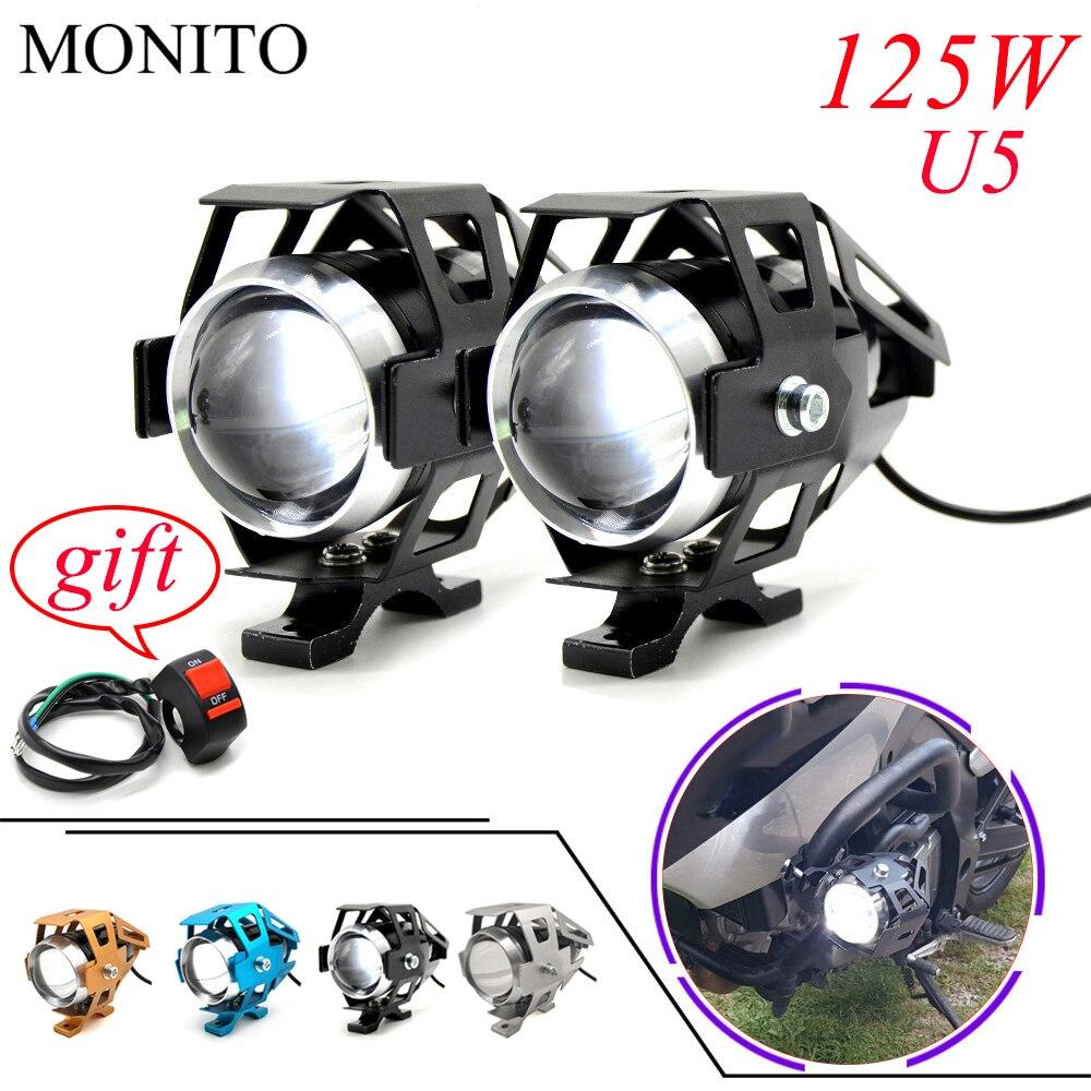 For KTM 790 990 1050 1190 1290 Adventure Super Duke R/GT Motorcycle Light LED Driving Headlight Fog Light Auxiliary Lamp 12v U5|  - title=