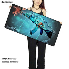 Xl Mouse Pad Mouse Cs Go Mouse Pad, Sniper Fire Gun Laptop Keyboard Speed Control Board Game Player's Favorite Gift цена 2017