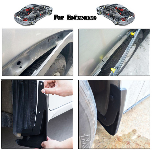50pcs 8mm For Lexus Subaru Nissan Auto Fasteners Bumper Fender Mud Flap Mudguard Plastic Rivet Fixing Clip Cover Car Styling