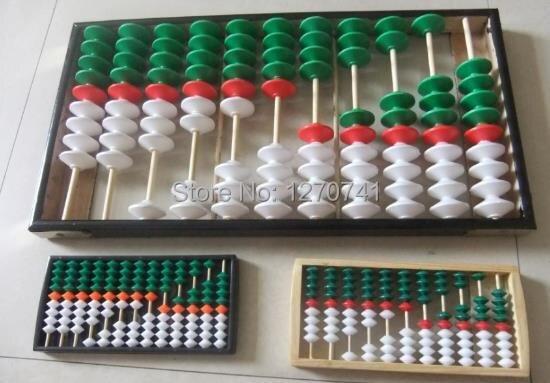 185 # outil de soroban chinois de haute qualité 11 columnAbacus en enseignement des mathématiques pour l'enseignant XMF013