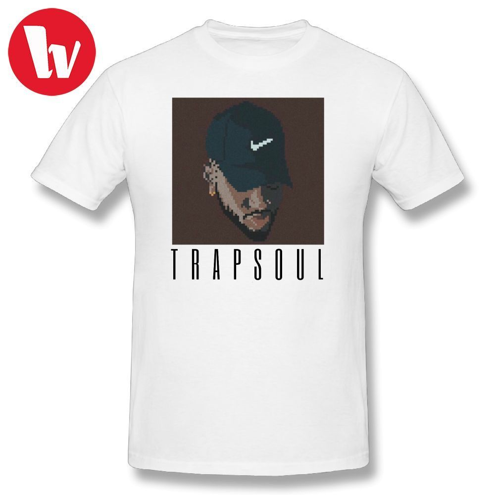 Chris Brown T Shirt Bryson Tiller Cartoon Print T Shirt Beach T