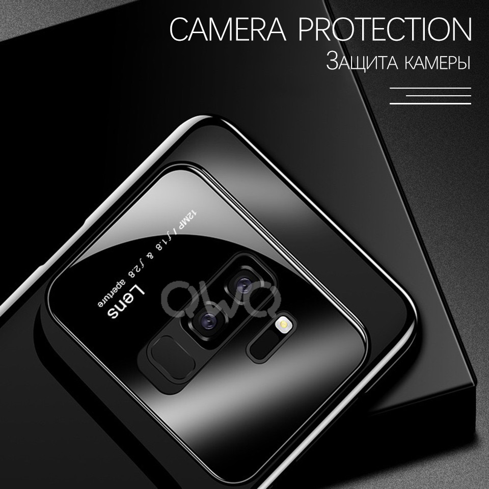 Luxury Camera Protection Phone Case For Samsung Galaxy S8 S9 Plus Case S7 edge Hard PC shockproof Cover For Samsung Note 8 Case 4