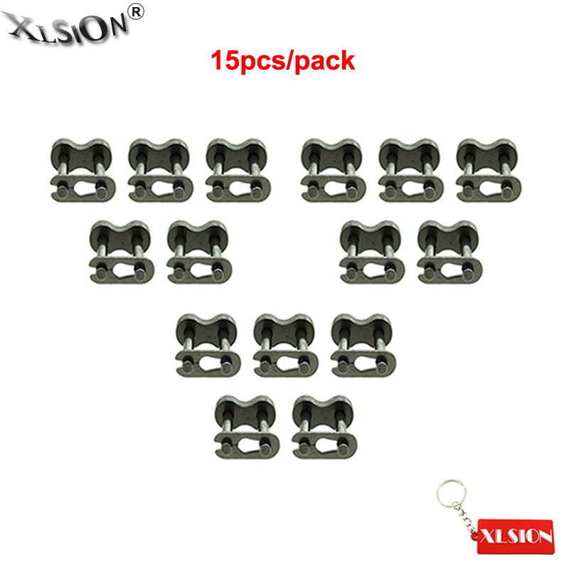 XLSION Aftermarket 15 шт. цепь Master Link для 50cc-160cc Pitster Pro DHZ SSR Atomic Stomp Thumpstar Dirt Bike