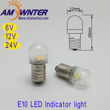 2017 New Arrival Sale E10 Indicator Light T10 Led T4w Car Bulbs Ba9s 12v 2835 2 Smd Sourse AMYWNTER