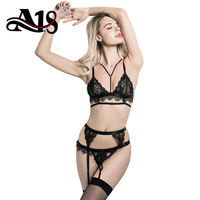 A18 New 2018 Women Lace Sexy Erotic Lingerie Sets Women Exotic Apparel Baby Dolls Sexy Lingerie Suits Ladies Sexy Underwear