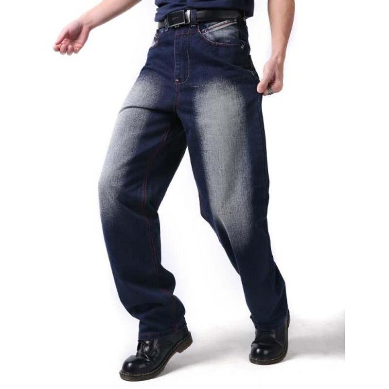Pantalon Mode Mâle Vêtements Black Hop Shierxi Loisirs Hip Design Blue De Plus La Automne 46 Homme 44 Baggy Hommes Taille Pour Hiver fx46nxTqwt