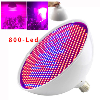Powerful 800 LED Grow Light Bulbs For Plant Flower Growth Lamp Indoor Greenhouse  Vegetable Growing LED Hydroponics planter led plant grow light strip ac 100 240v for greenhouse vegetable flower plant light