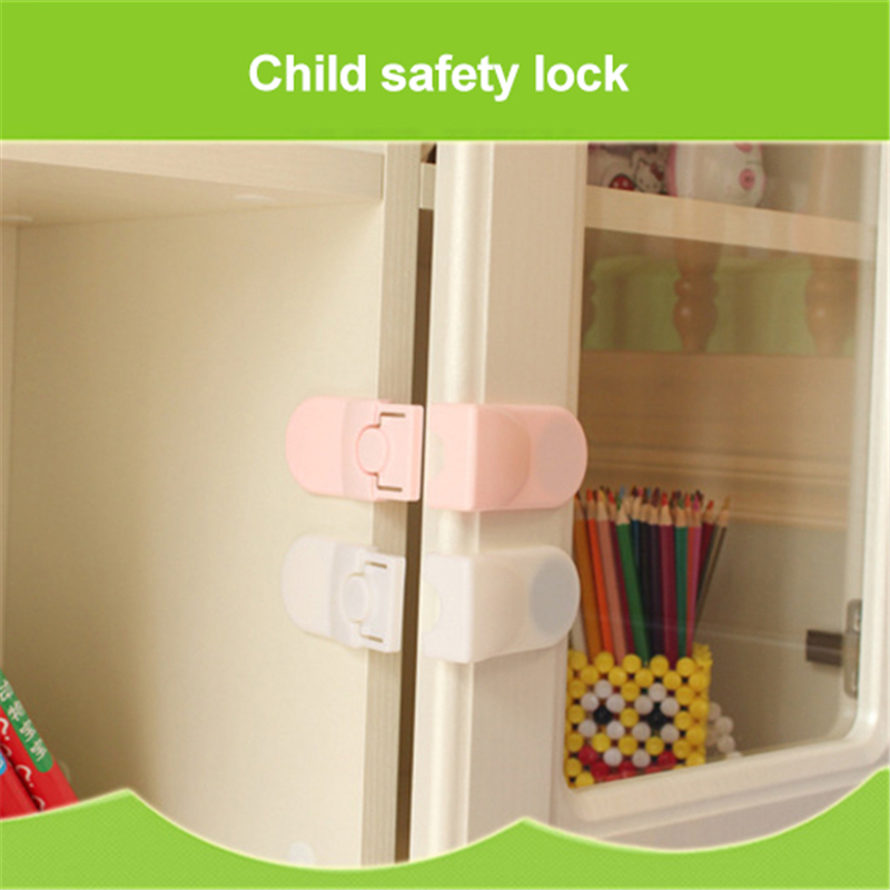 Hot sale Baby Multifunctional Safety Buckle Attach to Fridge and Drawer Prevent open drawer cabinets Anti pinch hand protect