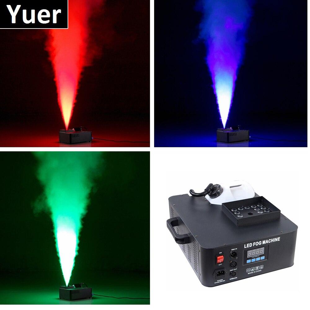 1XLot 1500W Mist Haze Machine 3.5L Fog Machine DMX512 Smoke Machine Dj Bar Party Show Stage Disco Light Professional LED Fogger