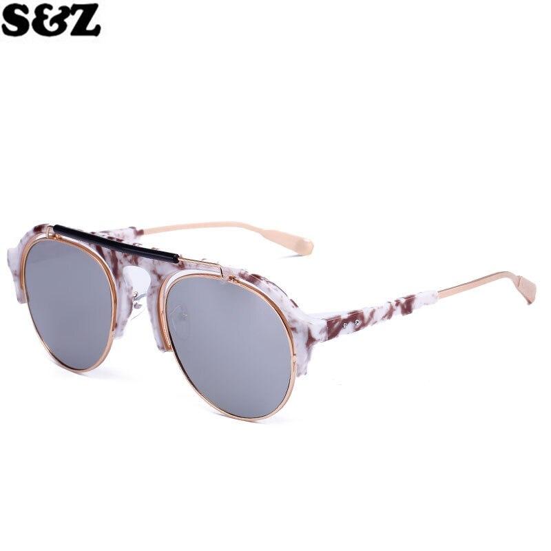 53a0c184260 Retro Aviator Vintage UV400 Men Sunglasses Round Shape Metal Frame Driving  Fishing Glasses Unisex luxury brand