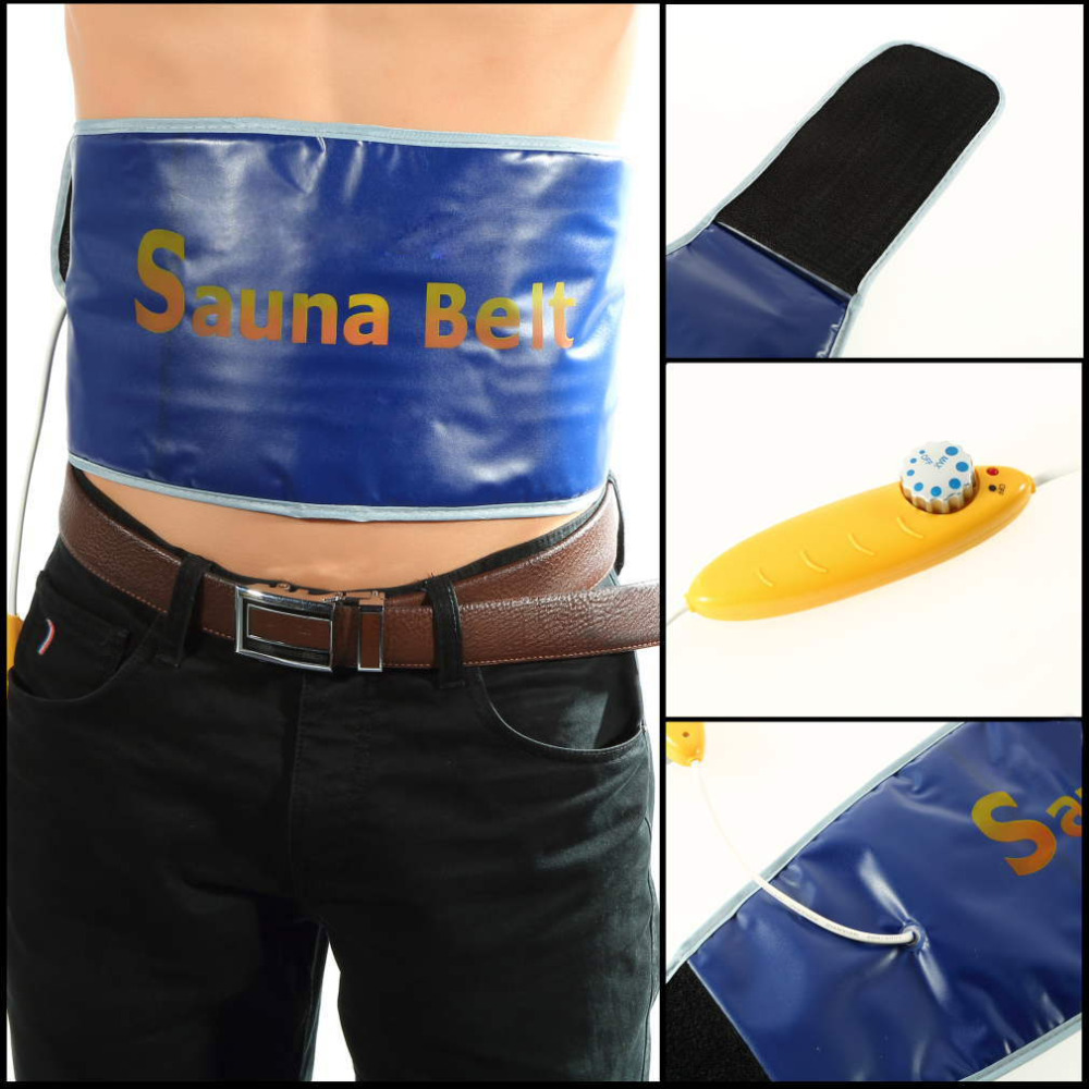 Newest Heating Slimming Health Care Body Tummy Waist Massager Massage Sauna Exercise Belts For Weight Loss Good quality