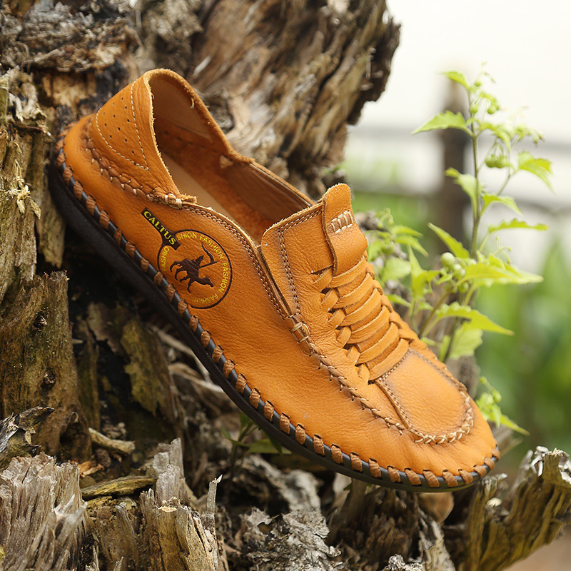 BACKCAME Γνήσια Δερμάτινα Παπούτσια - Ανδρικά υποδήματα - Φωτογραφία 5