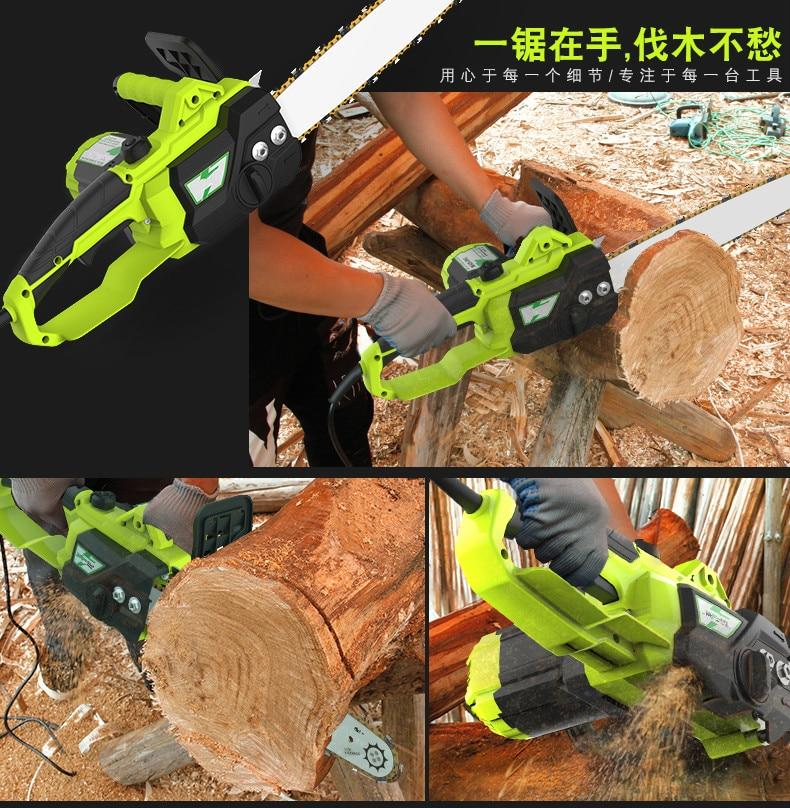 HTB193tKRFXXXXaNXXXXq6xXFXXXG - Electric Saw Free shipping Chainsaw loggers saw household high-power multifunctional automatic injection Electric Saws