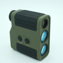 Best price High precision Professional golf Laser Range Finder For Hunting WIith Range Measurement 1500M Rangefinder Green and Black