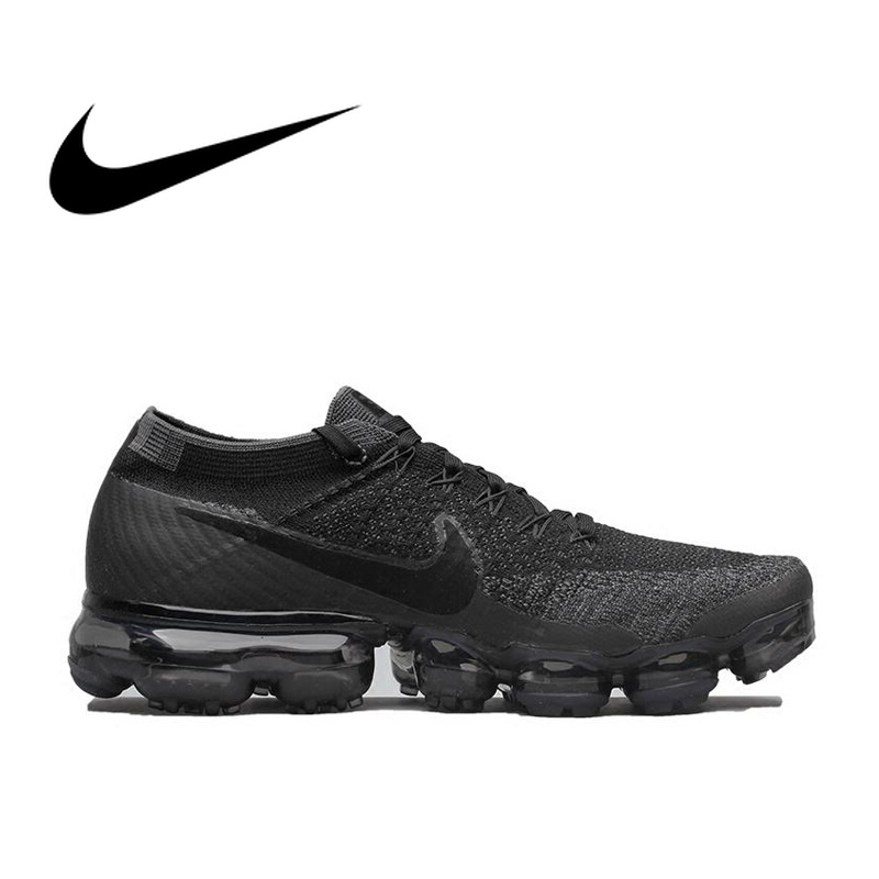Chaussures de course Nike Air VaporMax Be True Flyknit respirantes pour hommes sport officiel confortable baskets durables en plein Air