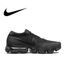 Original Nike Air VaporMax Be True Flyknit Breathable Men's Running Shoes Sports Official Comfortable Durable Sneakers Outdoor(China)