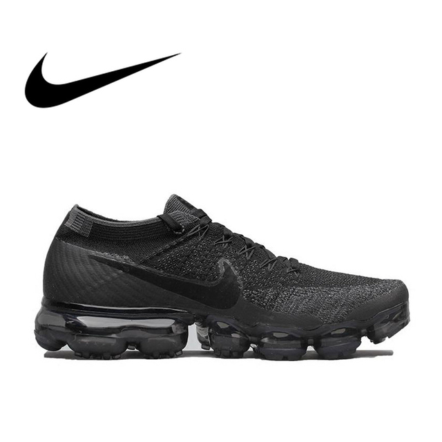 best loved 88615 924b0 Original Nike Air VaporMax Be True Flyknit Breathable Men's Running Shoes  Sports Official Comfortable Durable Sneakers Outdoor