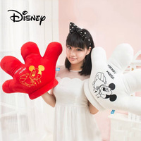 2019 Disney Plush Toys Cute Mickey Mouse Pillow Hand Puppet Creative Mickey Gloves Modeling Dolls Children's Toys Birthday Gifts