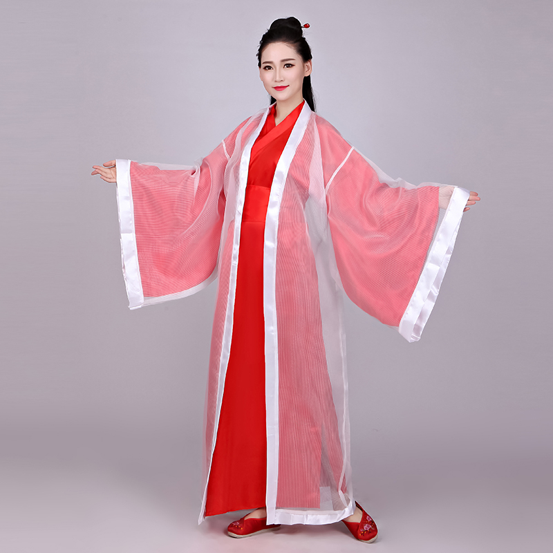 Female Chinese Traditional Folk Hanfu Dress Tang Dynasty Princess Fairy Dance Costume Classical <font><b>Festival</b></font> <font><b>Outfit</b></font> Performance Suit image