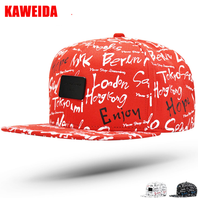 2018 Graffiti Hiphop Skateboard punk Snapback Canada baseball caps men  women flat Hats Camouflage Gorra Plana Cap 4efbdb1859d