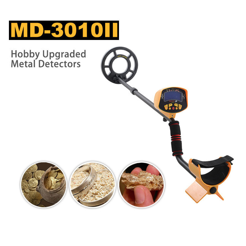 <font><b>MD</b></font>-3010II Hobby Underground Metal Detector LCD Display Gold Digger Treasure Hunter Detecting Tool image