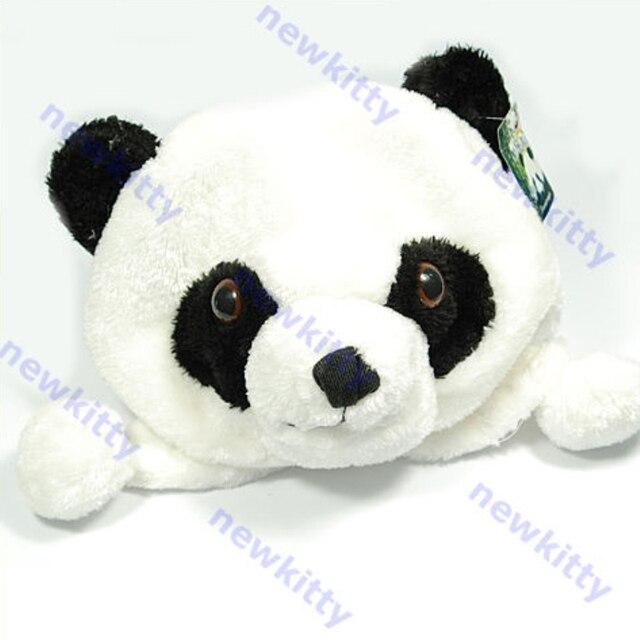 Kartun Hewan Panda Lucu Fluffy Plush Hat Cap Earmuff Di Skullies
