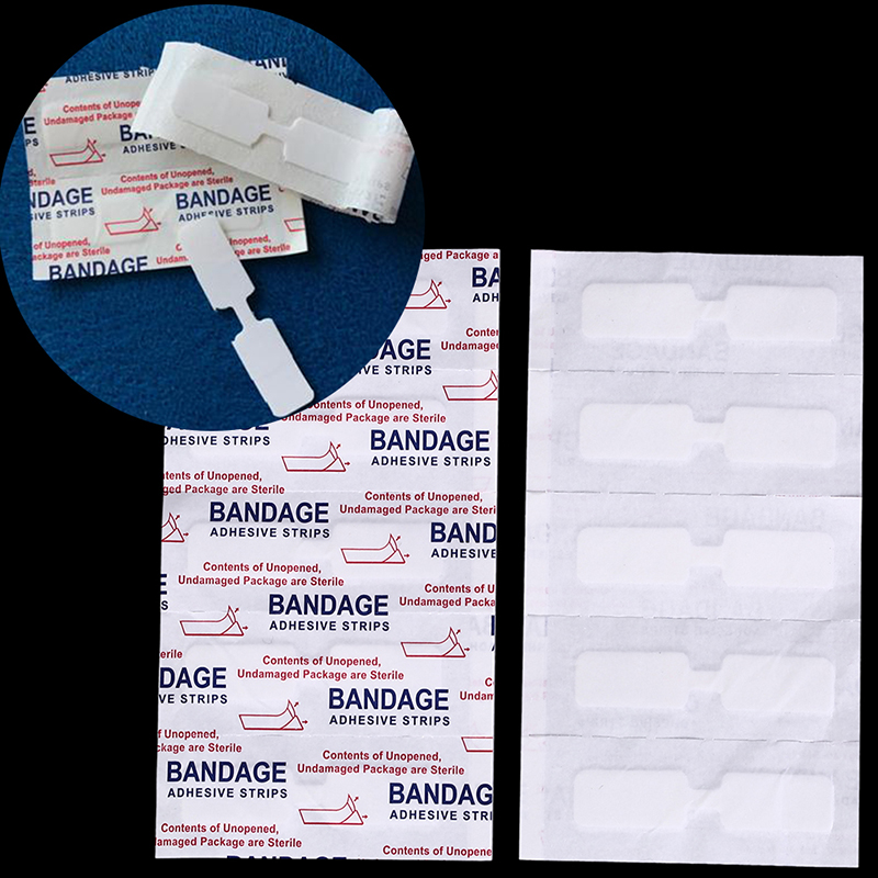10 Pcs Waterproof Band Aid Butterfly Adhesive Wound Closure Band Aid Skin Care Accessories Adhesive Bandages Emergency Kit