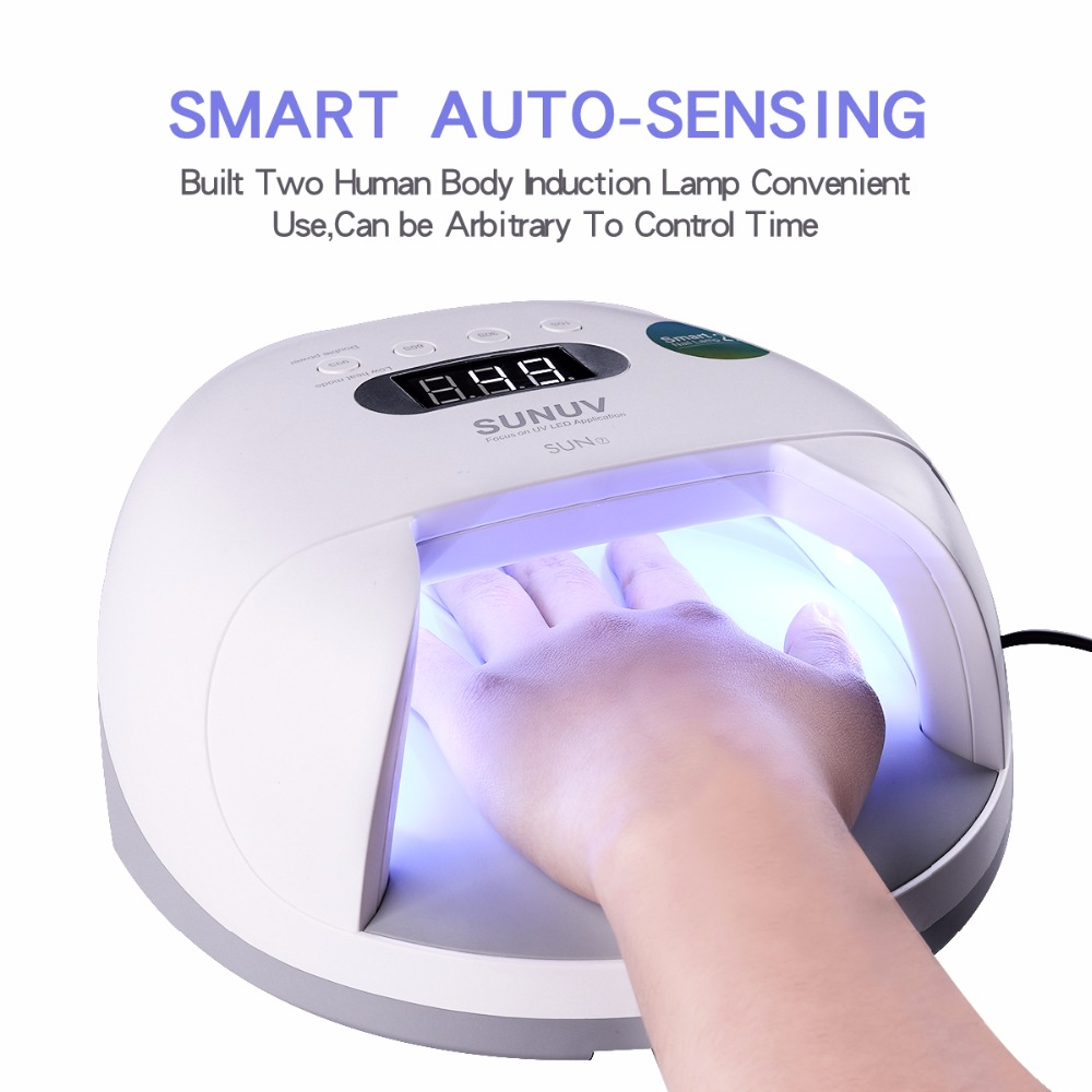 NOQ Sun7 All For Nails UV LED Nail Lamp With Battery 48W Lamp Nail Dryer For Types Gel Polish Lamp Nail Machine 30s/60s/90s noq smart sensor nail lamp with battery 48w uv led nail light dryer for curing all type gel polish with timer button 10s 30s 60s