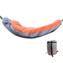 Новинка 230*84 см многофункциональный съемный полый хлопковый спальный мешок утолщение для гамаков осень и зима теплый водонепроницаемый
