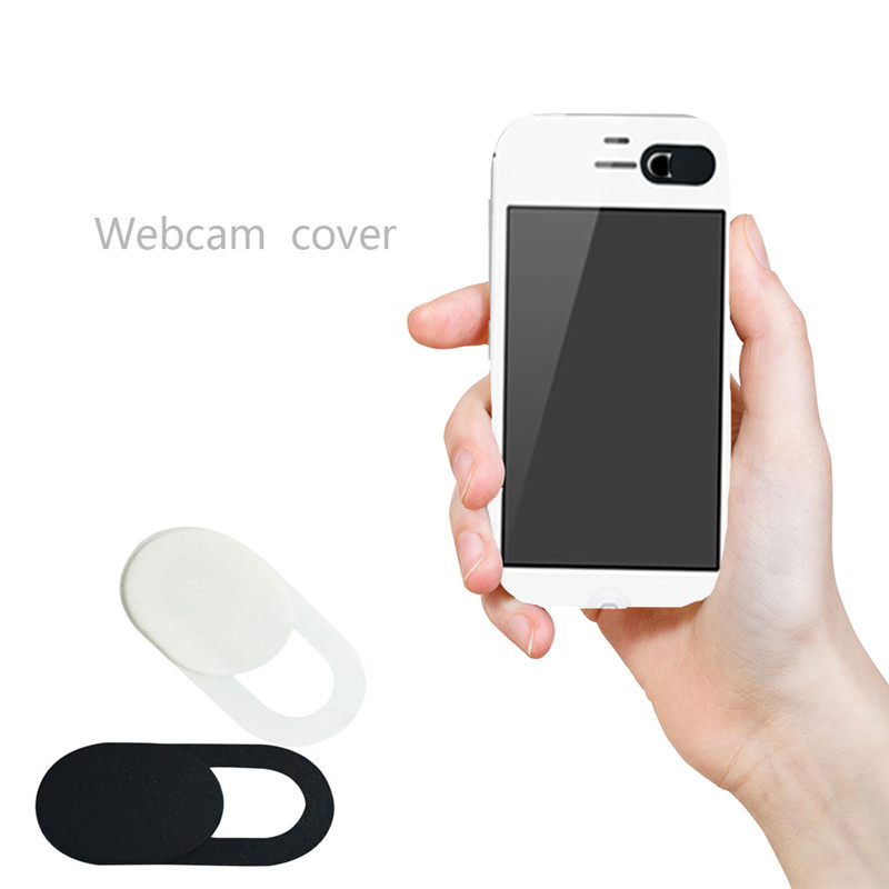 Universal Ultra Thin Webcam Cover Shutter Magnet Slider Plastic Camera Cover For laptop Camera Cover Web IPad Phone Camera(China)