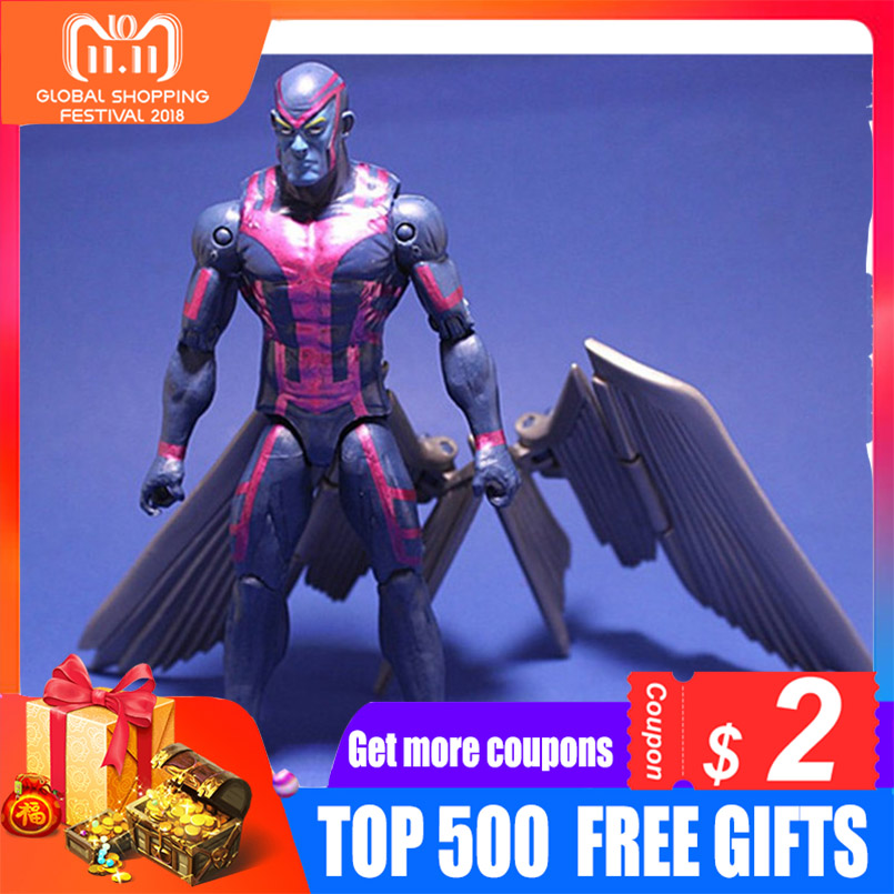 Action toys X man Apocalypse MOVIE Action Figure Magneto X-Men En Sabah Nur Collectible Movable Birthday Gift 16cm mr froger x men x men action figures apocalypse chibi anime figurine pop toys for children cute doll professor x magneto models