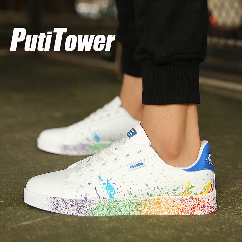 Plus Size Women Casual Shoes Flats Outdoor Sneakers Ladies Fashion White Shoes Zapatos Hombre Sapato Feminino Chaussure Homme 2017lace up superstar chaussure homme sapato masculino zapatos hombre high top rhinestones crystal silver casual shoes men flats