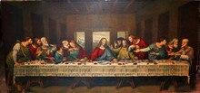 Neue DIY Diamant Malerei weltberühmten gemälde, das letzte abendmahl von Da Vinci Handwerk Mosaik Dekoration stickerei
