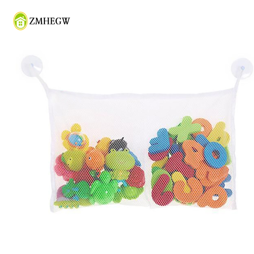 Fashion New Baby Toy Mesh Storage Bag Bath Bathtub Doll Organize Bedroom Small Things Collection Bag Bathroom Stuff Net