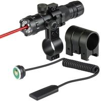 Laser Mount Red / Green Dot Laser Sight Rifle Hunting Scope Rail & Barrel Mount Cap Pressure Switch New
