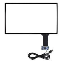 """15.6 """"מגע קיבולי פנל, תואם עם 15.6 אינץ 16:9 LCD, כגון LP156WH4 LQ156T3LW02 B156HW01 B156HAN01.2 NV156QUM"""