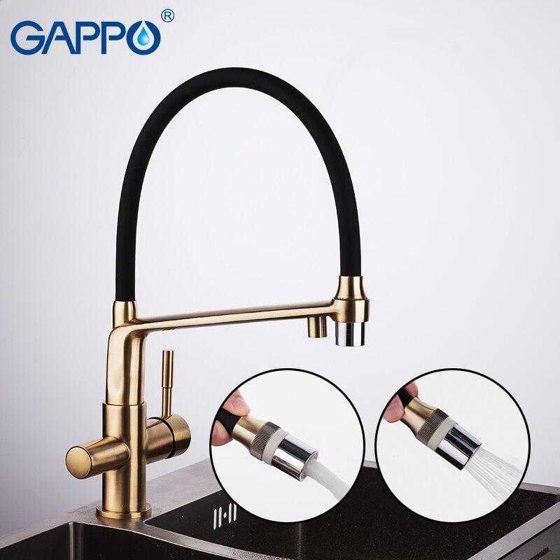 GAPPO robinets de cuisine robinet d'eau potable pour cuisine robinets de cuisine colorés tournés robinets évier robinets mélangeur d'eau de cuisine