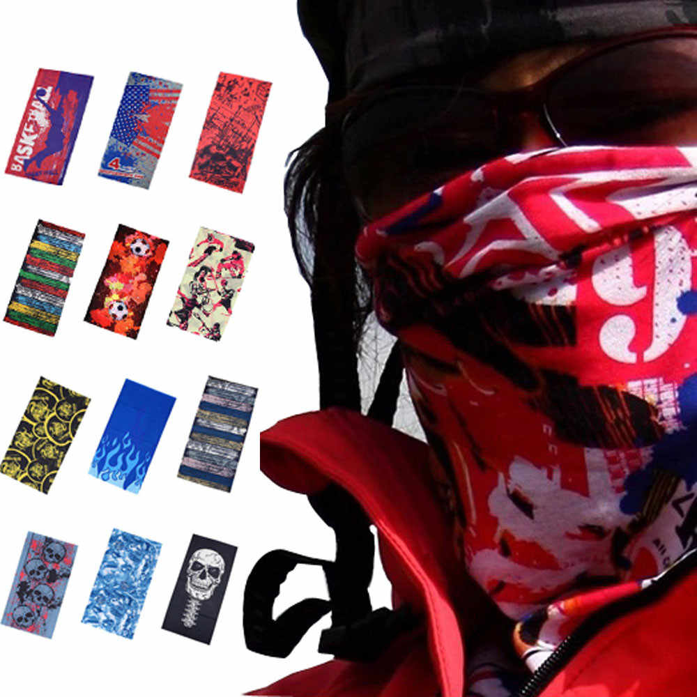 Hot sale Multifunctional Headband Neck Outdoor Sport Cycling Bandana Seamless Outdoor Cycling Scarf Mask Women Scarf Free ship