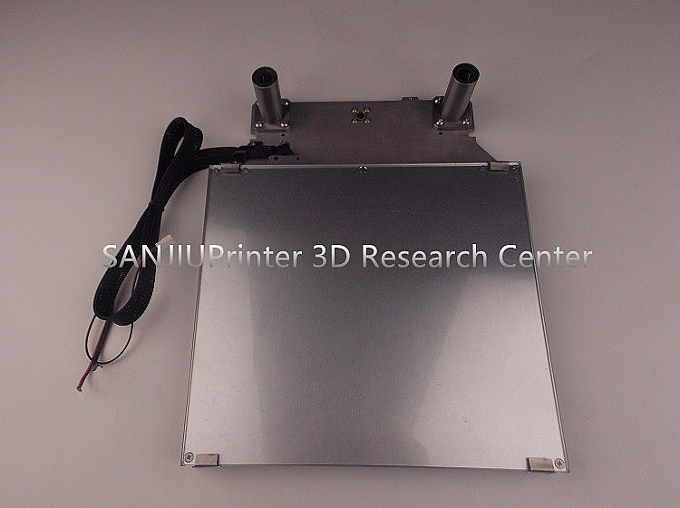 Computer & Office Fashion Style Ultimaker 2 Um2 Z Table Base Plate Platform Supporting Aluminum Heated Hot Bed Plate 3d Printer Parts