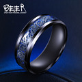 Beier 316L Stainless Steel ring wedding  simple exquisite jewelry  men/women  Fashion Jewelry BR-R002