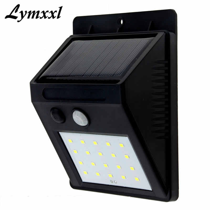 Led Solar Wall Lamp Security Motion
