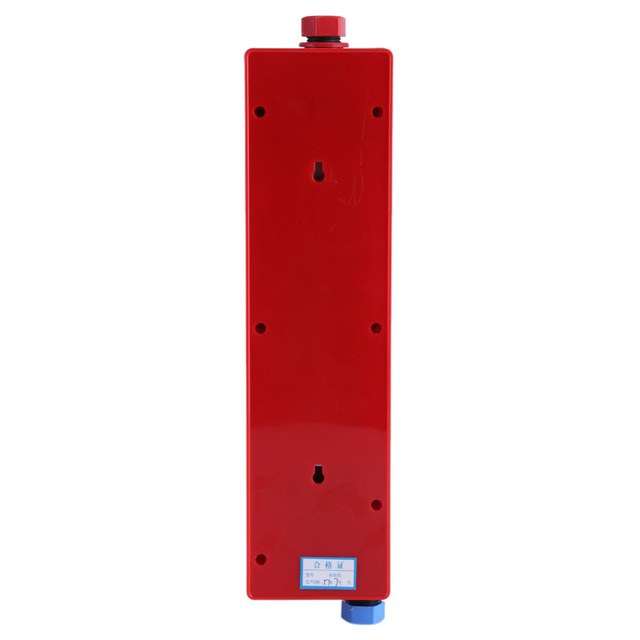 220V 3000W Electric Water Heater Instant Tankless Water Heater Indoor Shower Kitchen Bathroom Water Heating High Quality