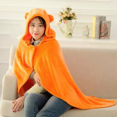 Anime Himouto! Umaru-chan Cosplay Cloak Hoodies Flannel Coat Daily Blanket Quilt N1