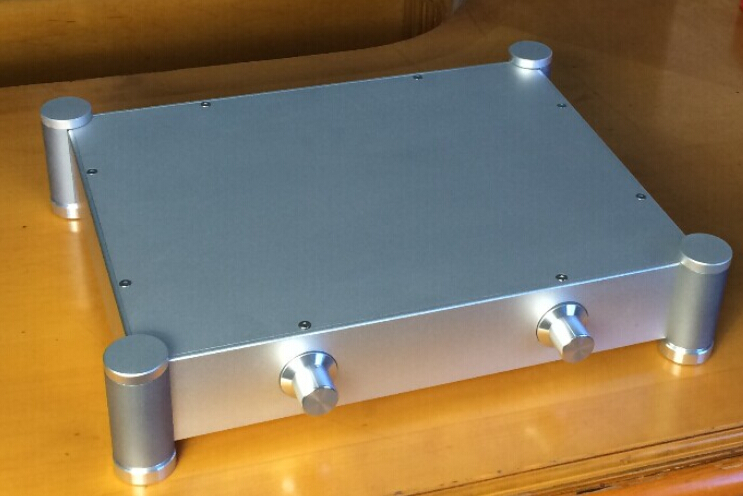 BZ4307P  aluminum chassis pre amplifier chassis Enclosure box 430 342 84mm chassis engine aluminum skirting chassis switch - title=