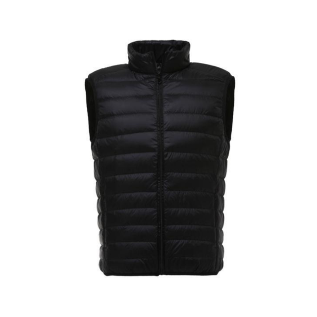 Men Winter Duck Down Vest Mens Casual Sleeveless Jackets Ultralight 90% White Duck Down Vests Men's New Warm Outwear Waistcoat